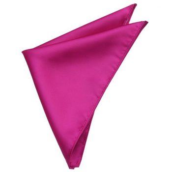 Mens Fuschia Cerise Magenta Pink Handkerchief