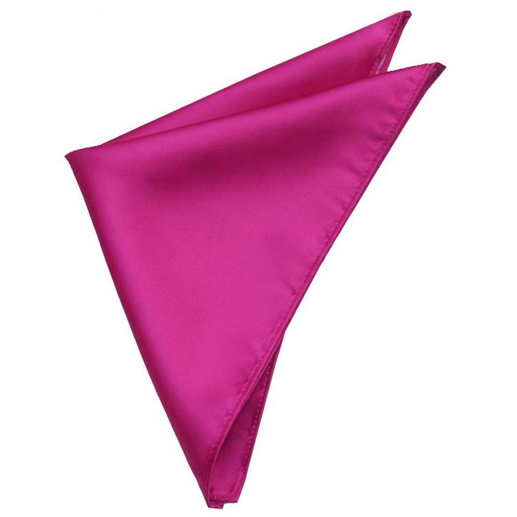 Fuschia Cerise Pink Pocket Square