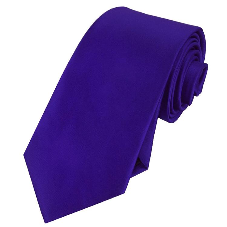 Men's Electric Blue Indigo Tie