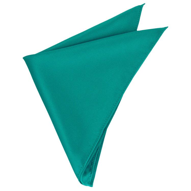 Mens Jade Green Pocket Square Handkerchief