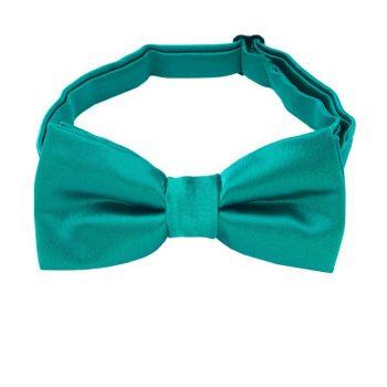 Jade Green Boys Bow Tie