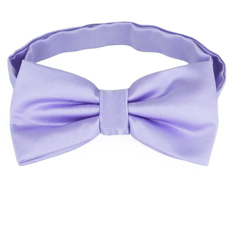 Lavender Lilac Purple Bow Tie