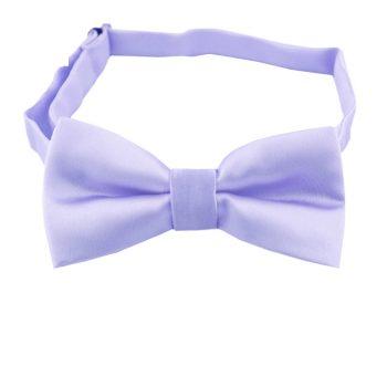 Lavender Lilac Boys Bow Tie