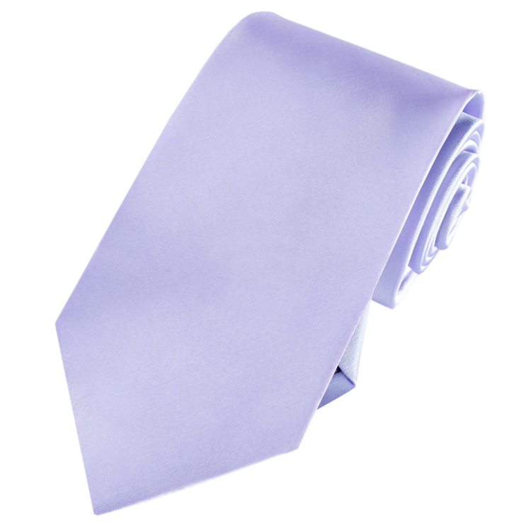 Mens Lavender Lilac Purple Tie