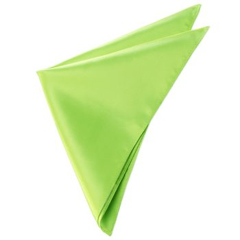 Mens Lime Green Pocket Square
