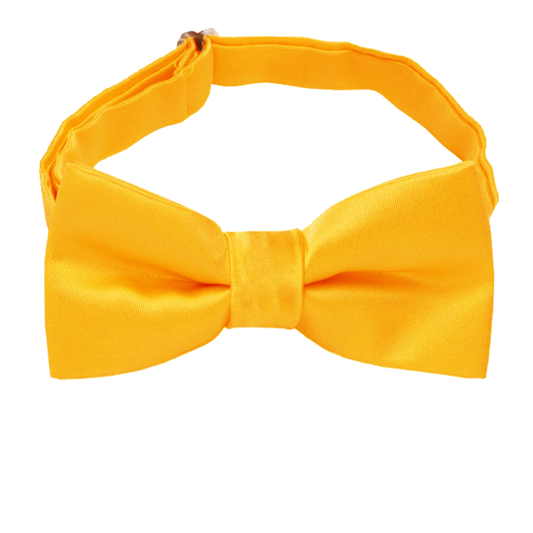 Marigold Bumblebee Yellow Boys Bow Tie