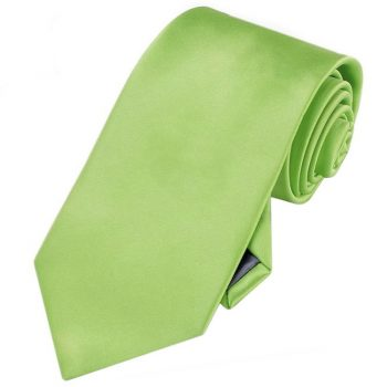Men's Lime Green Tie