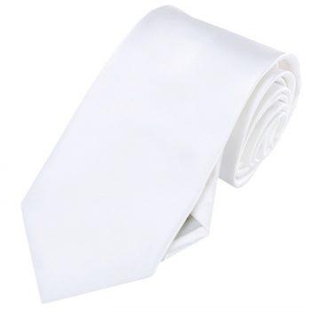 Mens White Tie