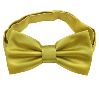 Metallic Gold Bow Tie