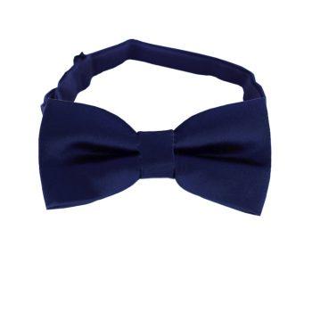 Midnight Dark Blue Boys Bow Tie
