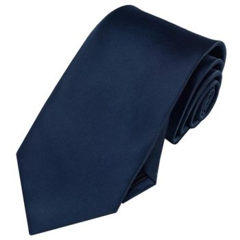 Men's Midnight Dark Blue Tie