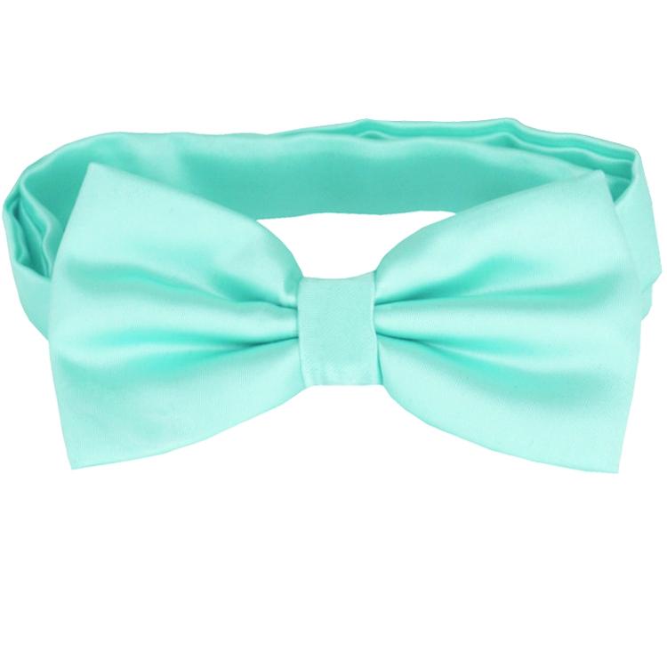 Mint Green Tiffany Bow Tie