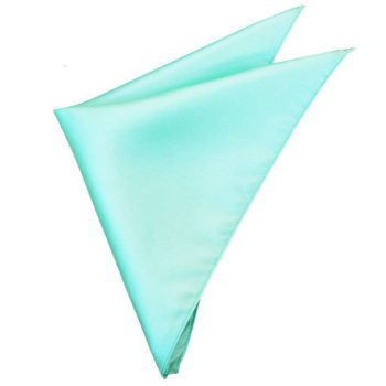 Mens Mint Green Tiffany Pocket Square