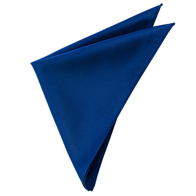 Mens Navy Blue Pocket Square Handkerchief