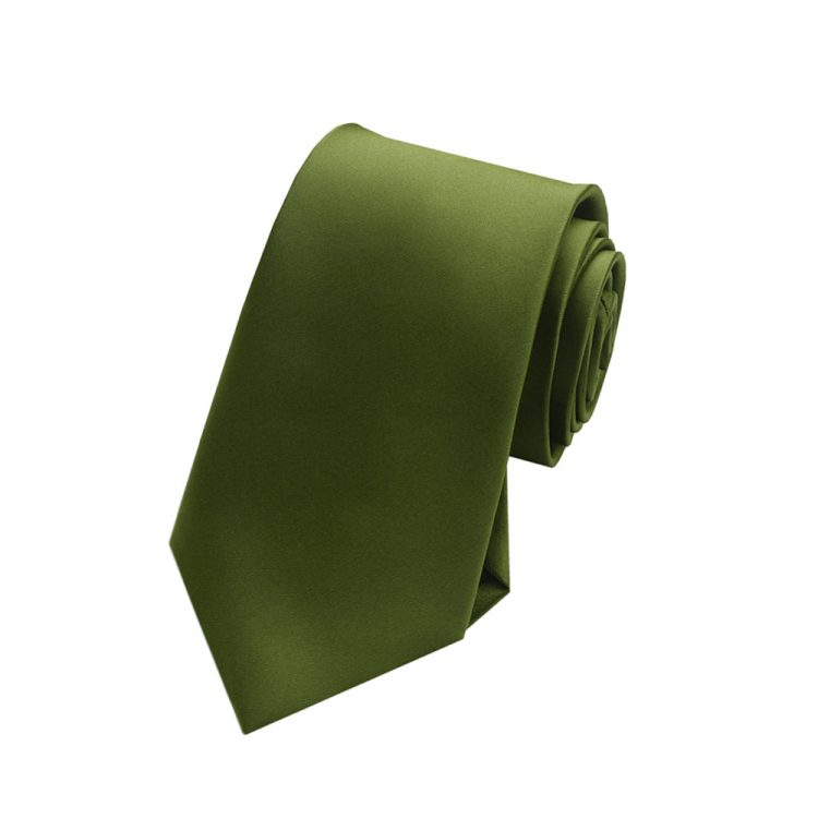 Olive Boy's Tie