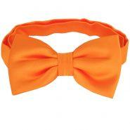 Orange Carrot Bow Tie