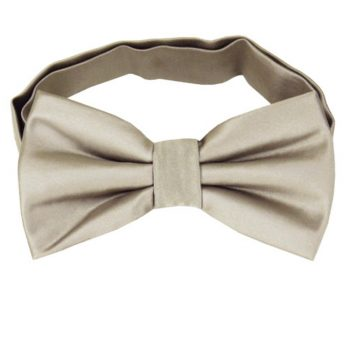 Platinum White Gold Bow Tie