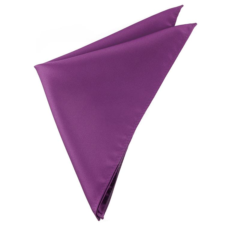 Plum Grape Purple Pocket Square