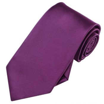 Men's Plum Grape Purple Tie
