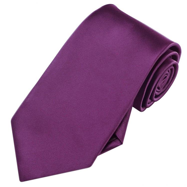 Men's Plum Grape Purple Tie