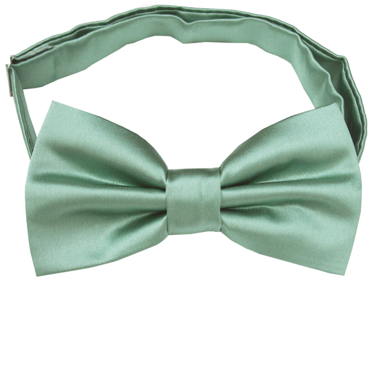 Sage Green Bow Tie