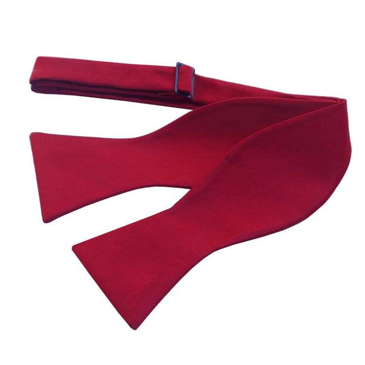 Scarlet Red Self Tie Bow Tie
