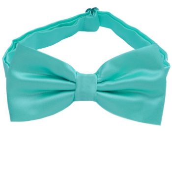 Sea Mist Turquoise Green Bow Tie