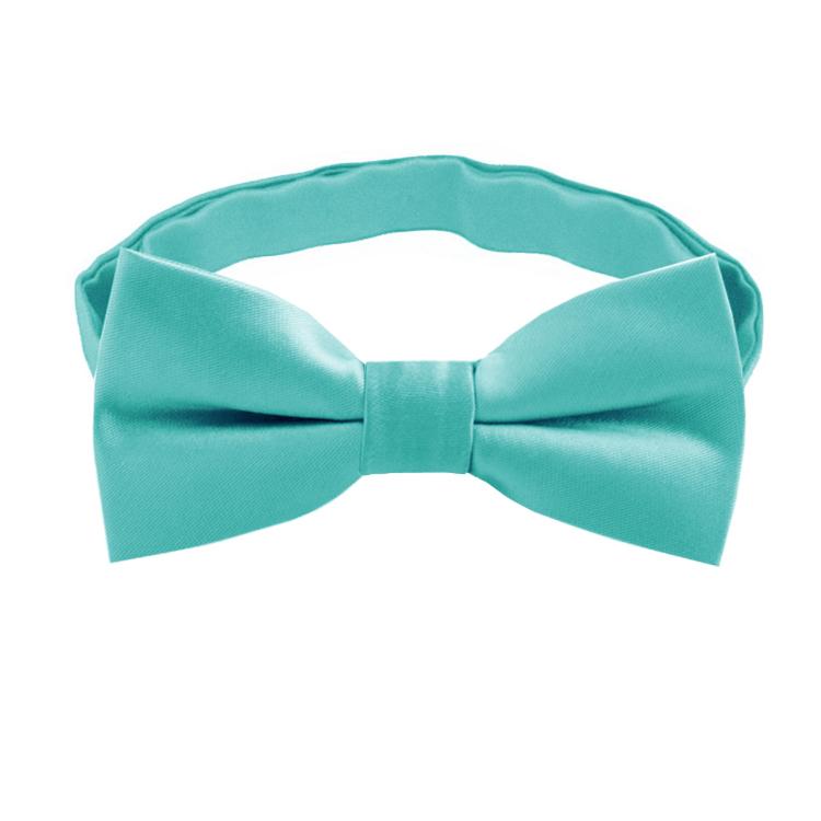 Sea Mist Turquoise Boys Bow Tie