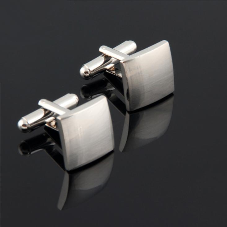 Silver Squares Cufflinks