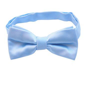 Sky Baby Blue Boys Bow Tie