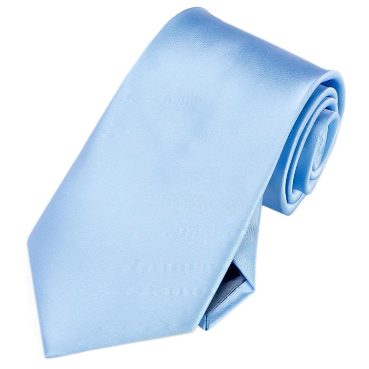 Mens Sky Baby Blue Tie