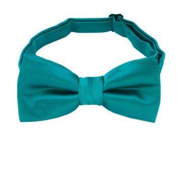 Teal Green Boys Bow Tie