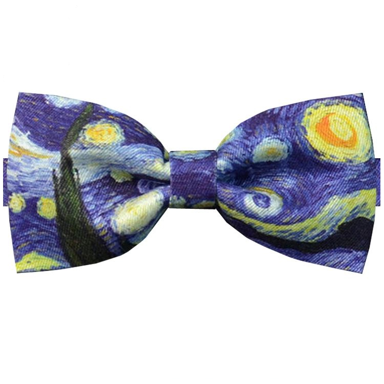 The Starry Night Bow Tie