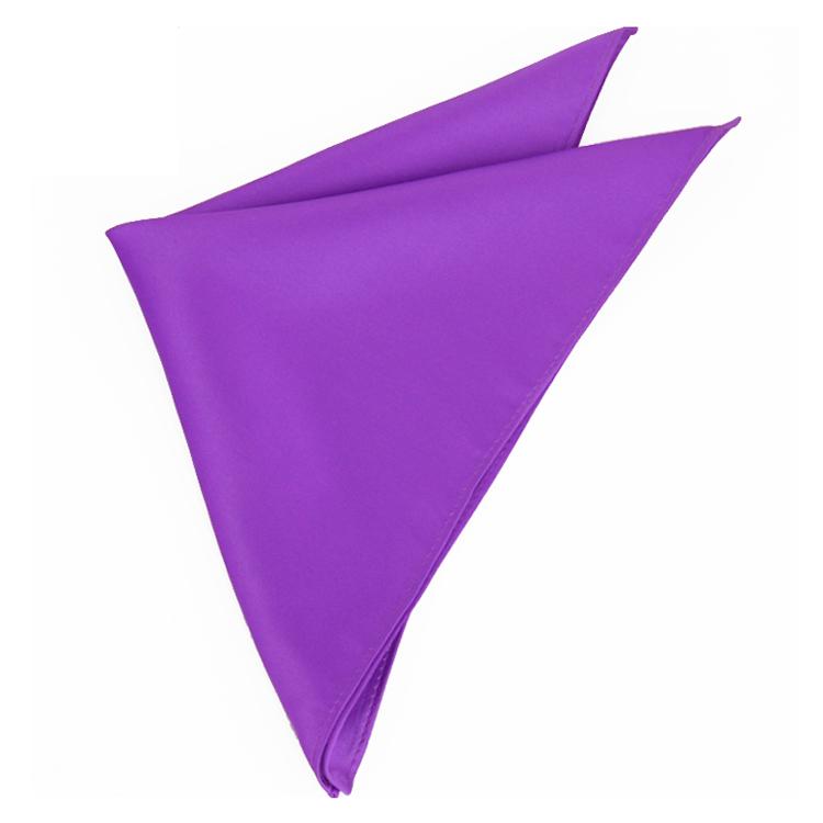 violet purple pocket square