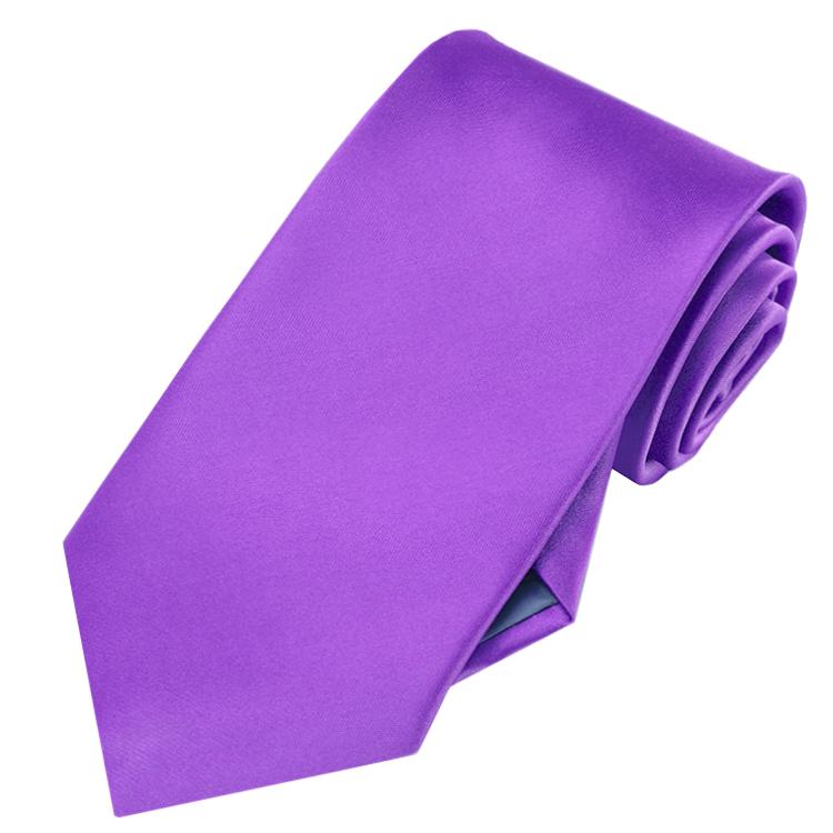 Mens Violet Purple Tie