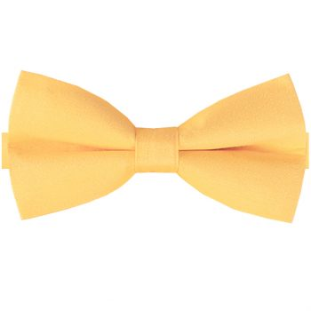 Yellow Cotton Men's Bow Tie