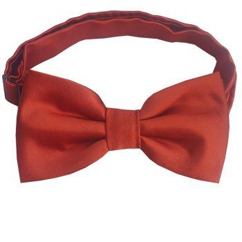 Rust Dark Terracotta Men's Bow Tie