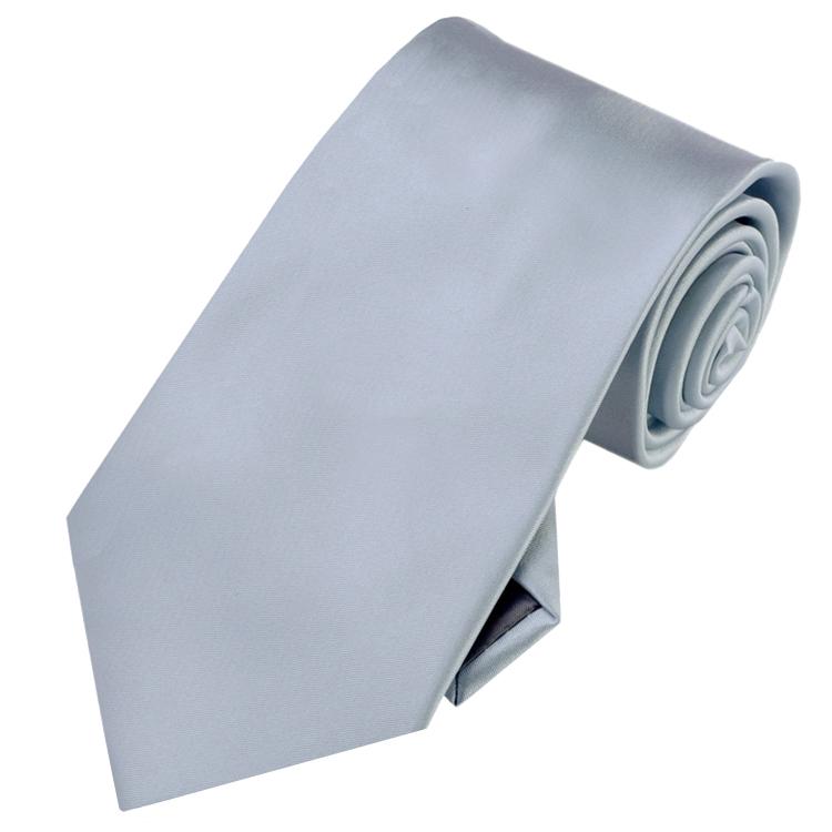 Mid Silver Men's Tie NZ