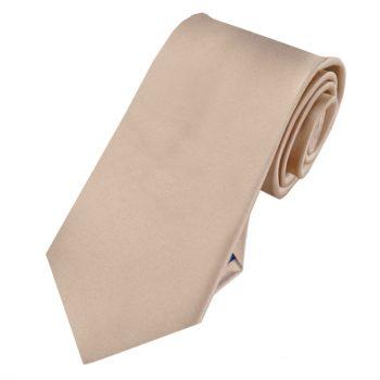 Beige Tan Slim Tie