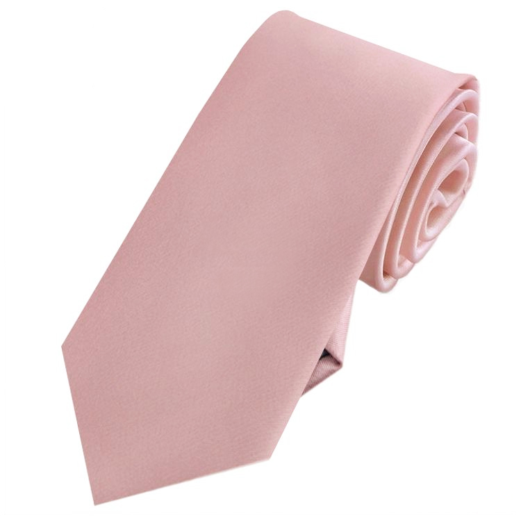 Dusty Pink Men's Slim Tie NZ