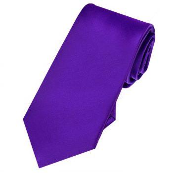 Cadbury Purple Slim Tie