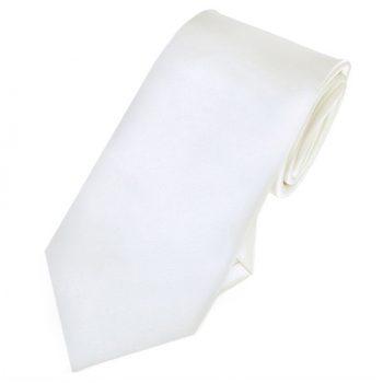 Ivory Slim Tie