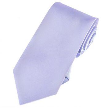 Lavender Lilac Slim Tie