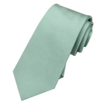 Sage Green Slim Tie
