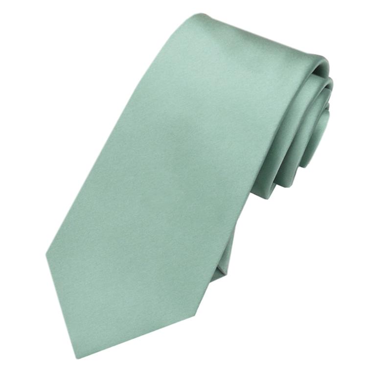 Sage Green Men's Slim Tie NZ